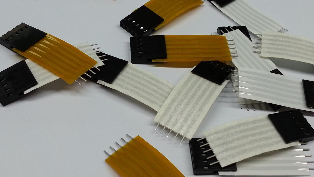 Flexible Flat Cable With Ends : Flat cable manufacturer teflon material kapton
